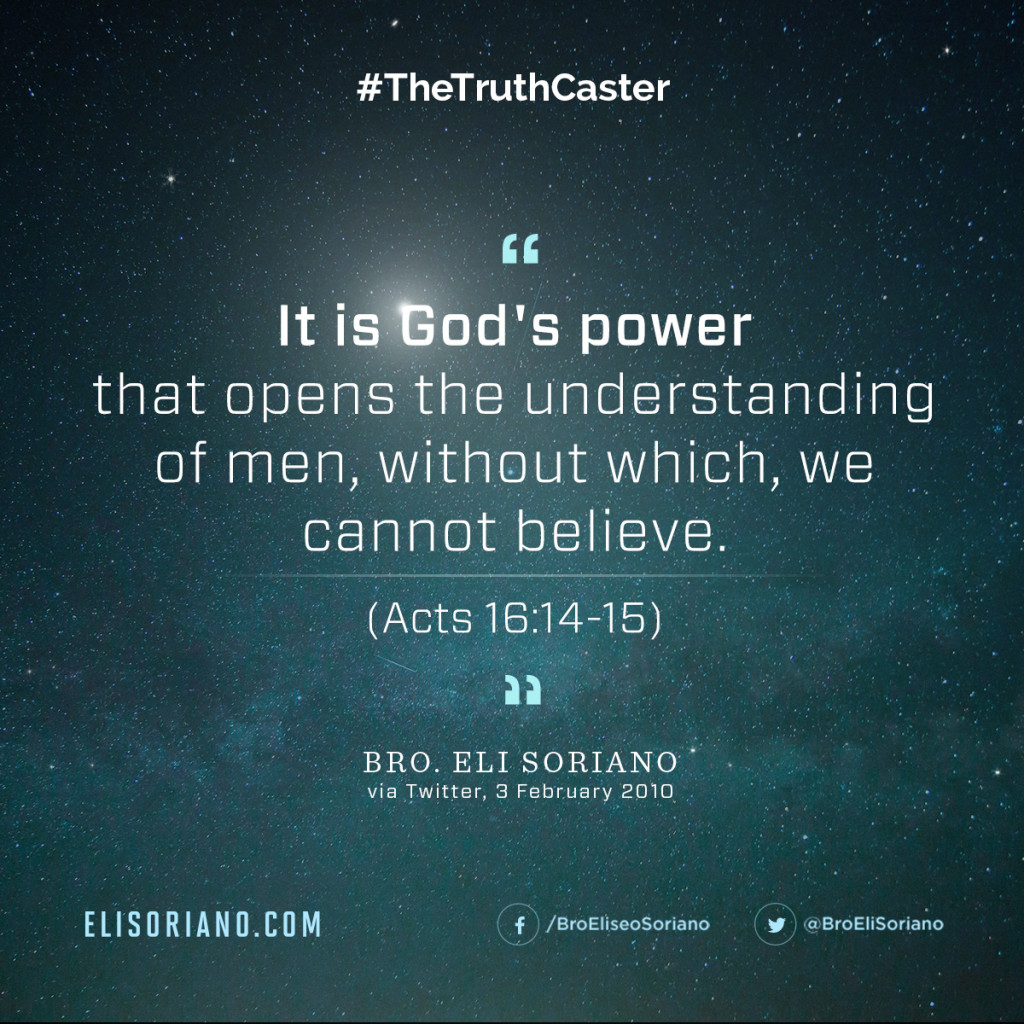 Bro Eli Soriano Quote God's Power