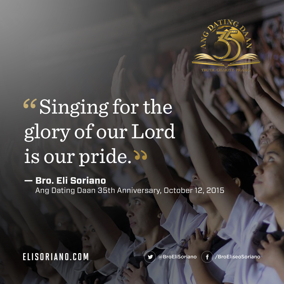 Singing For Our Lord