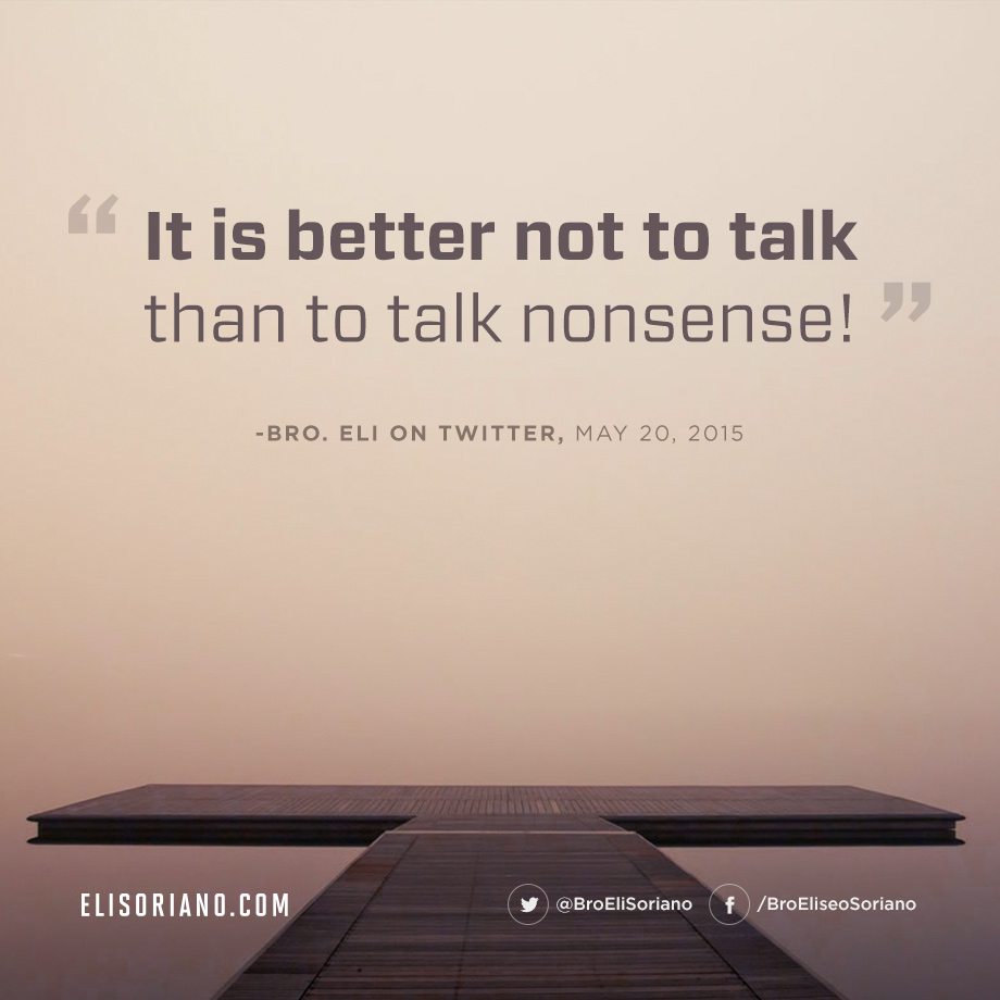 When Is It Better Not to Talk