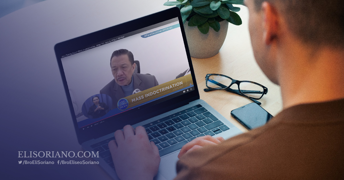 Ang Dating Daan Live Mass Indoctrination Now Streaming