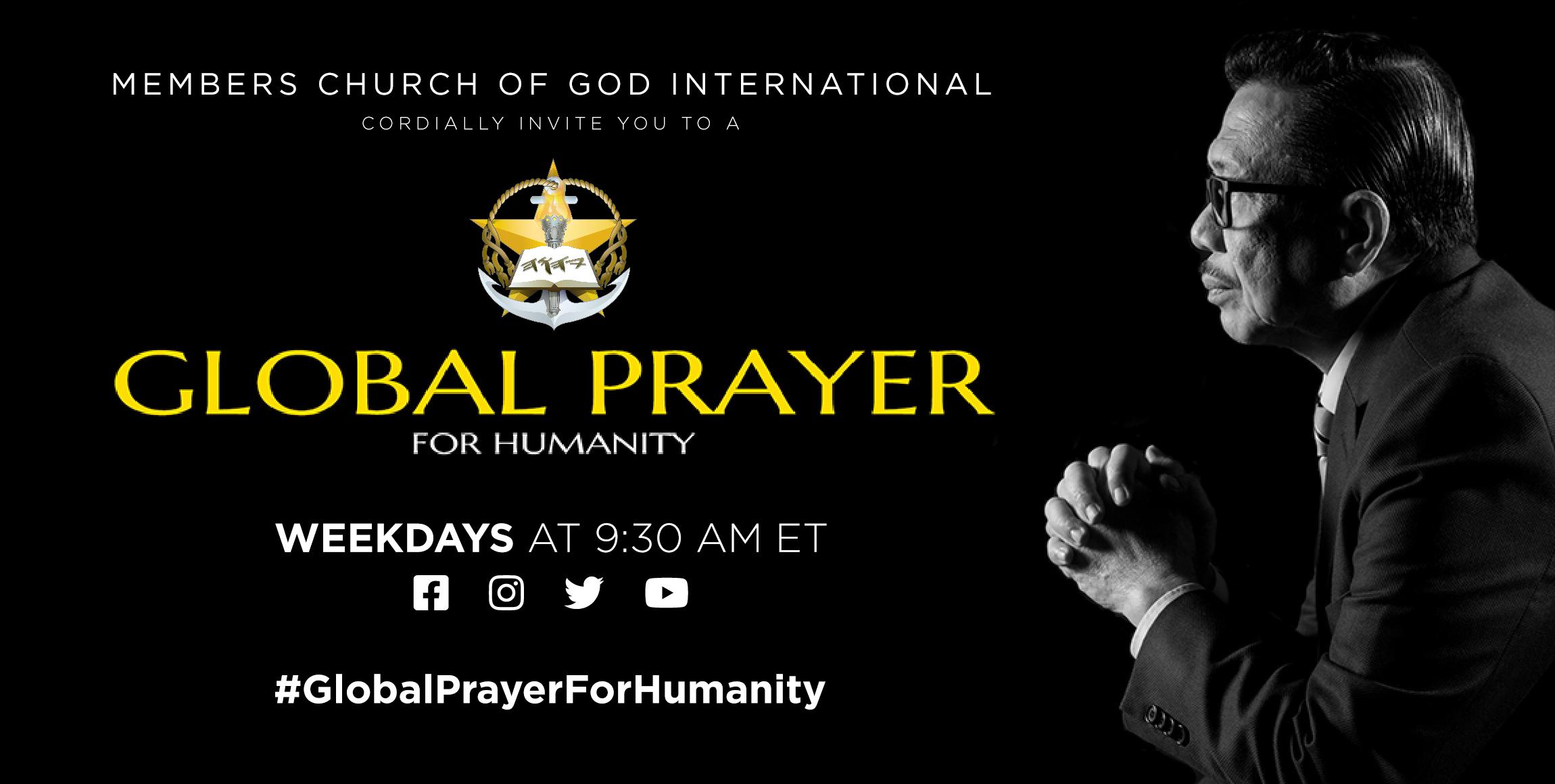 MCGI Global Prayer