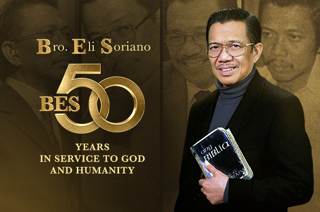 Brother Eli Soriano 50 Years in Service to God and Humanity