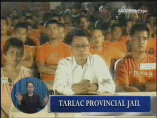 Bible Exposition on Tarlac Provincial Jail