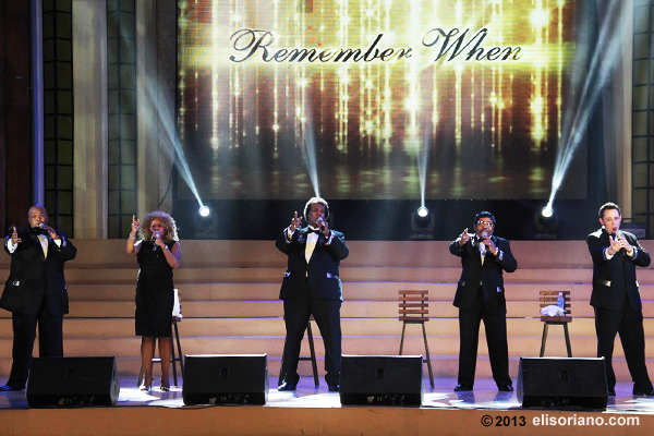 "The World Famous Platters brings back the good old music with their rendition of songs from the '50's in the concert ""Remember When."""